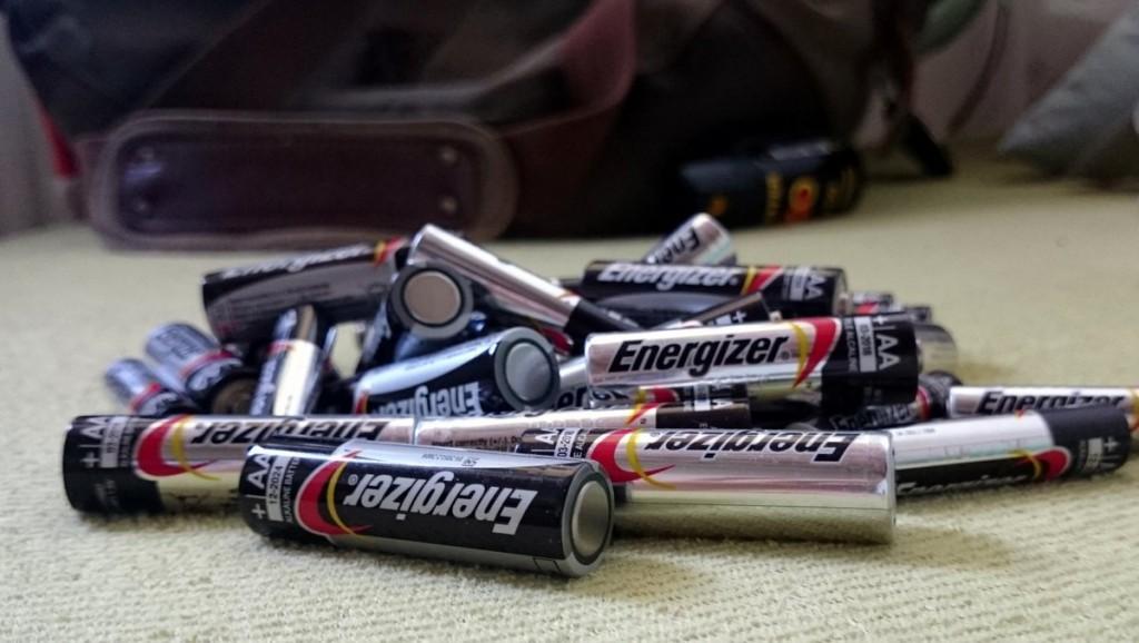 Tužkové baterie pro navigace