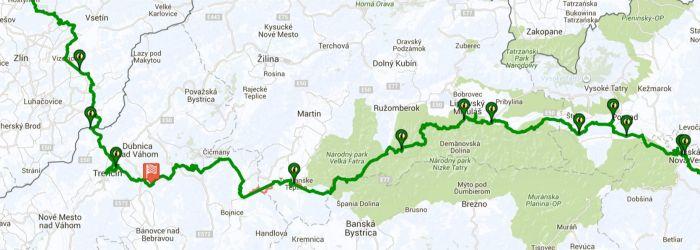 Záznam trasy na dlouhých tratích v Endomondu