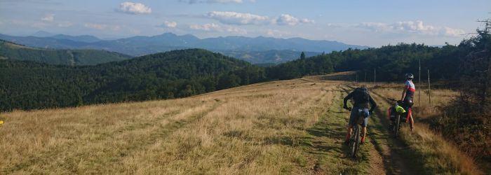 Carpatia Divide 2019, den #2 – Jak mi jedna zapiekanka změnila závod